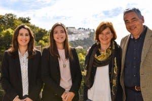 TEAM: (From left) Aurelia Perez Romo, Luna Lane Notario, Anita Schmidt and Oscar Ernstsen