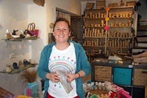 MIJAS: Bilingual shoe-seller Celia