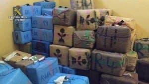 SEIZED: Police reveal drug bundles
