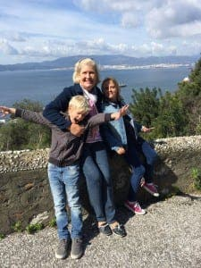 GIBRALTAR: Family outing to the top of the Rock