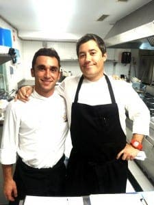 LA CALA RESORT: Chefs Ivan Alvarez and German Montes