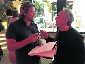 Jon Clarke and Ferran Adria