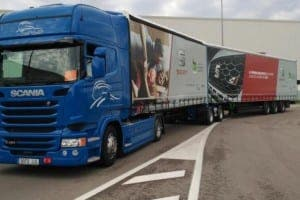 Lorry Spain Mega Camion
