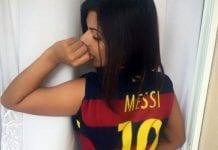 Messi Miss BumBum e
