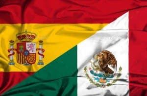 Mexico Spain flag