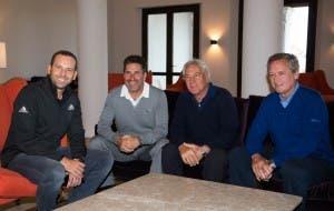 RIO TEAM: Garcia, Olazabal and Pinero plot Olympics success