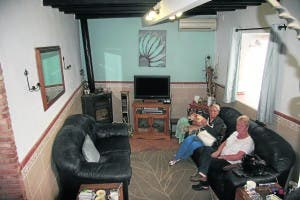 The Grays living room will be converted into a one-way street