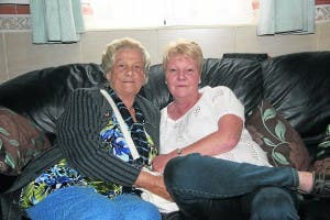 Deborah with mum Christina