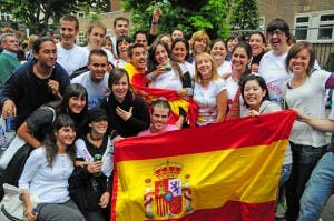 AT RISK: UK-based Spaniards could face quotas