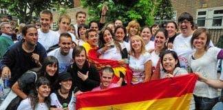 Spaniards in London e