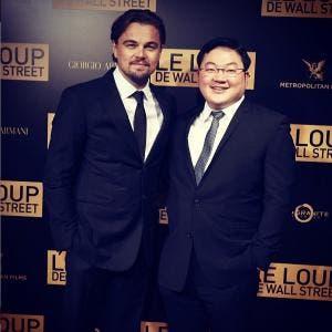 Jho Low with Leonardo DiCaprio