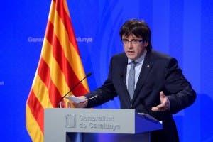 Catalan leader Carles Puigdemont