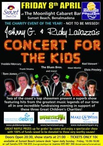 concert for the kids poster