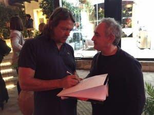 Jon with Ferran
