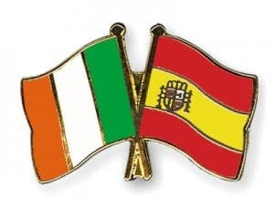 irish in spain