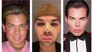 ken doll before after