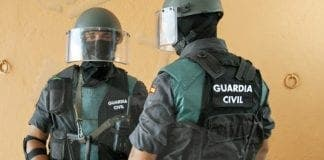 la guardia civil e