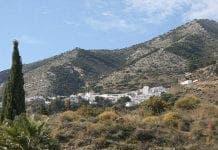 mijas pueblo from afar