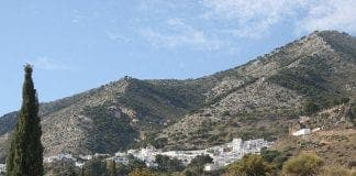 mijas pueblo from afar