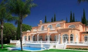 PURPLE GAIN: Prince's Marbella pad on sale