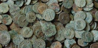 roman coins e