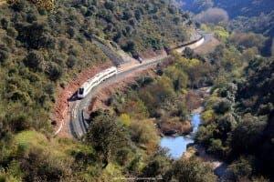 The walk of 'Mr Henderson's Railway' near Jimera de Líbar. Photograph: Karl Smallman