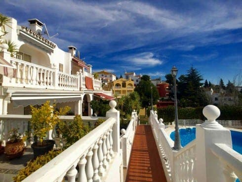 Three-bedroom terraced house in Mijas Costa. €179,000. Ref SM3496