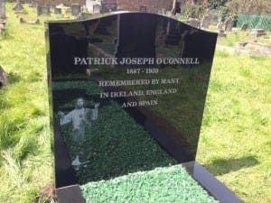 LEGEND: O'Connell given dignified final resting place