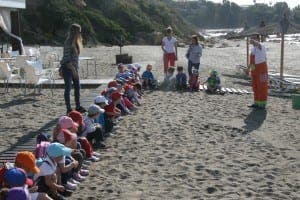 IL SONO: Local children at chiringuito's green awareness day