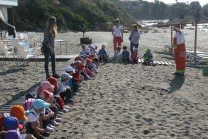 IL SONO: Local children at chiringuito's green awareness day