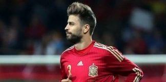 Soccer Spain Gerard Pique pi ssm