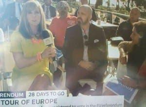 Giles on TV