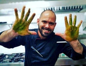 HANDS UP: Chef Tulio Zampieri