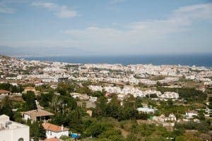 VISTA: View from Benalmadena's village