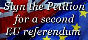 EU second referendum petition