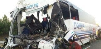 bus crash crash  e