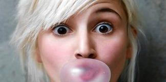 chewing gum e