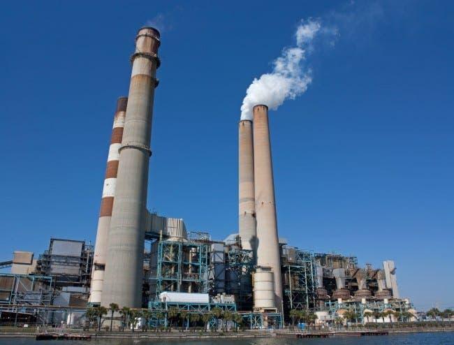 coal plant e