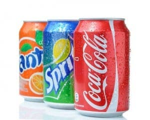 Coca-Cola Fanta and Sprite