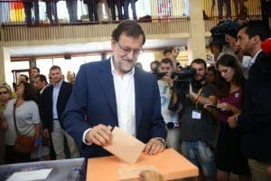 WINNER: Mariano Rajoy's PP takes most votes