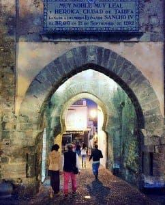Tarifa's bustling streets