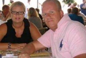 Brinkman and wife Johanna