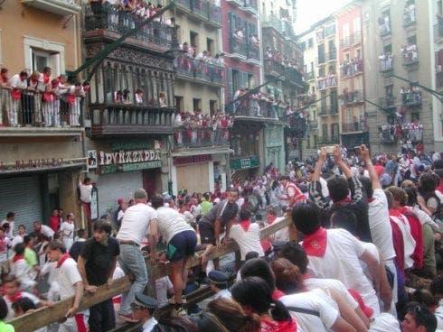 Sanfermines Vaquillas Pamplona e