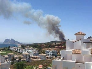 Santa Margarita fire