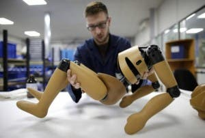 Crash test dummies at the headquarters of ENCOCAM