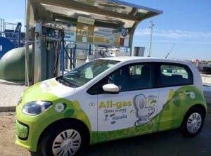 car runs on algae