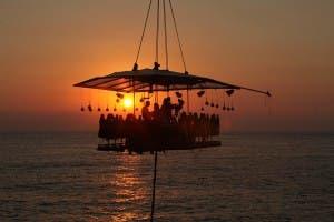 la sala dinner in the sky in beirut