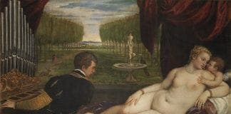 Nudes CAPTION Titian Venus with an Organist and Cupid