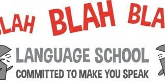 blah blah language academy e