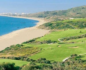 STUNNING LINKS: The view from Alcaidesa golf is one of Spain's very best